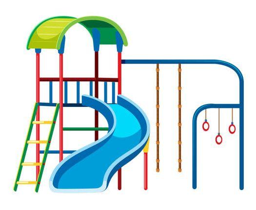 Modułowy plac zabaw dla dzieci do ogrodu